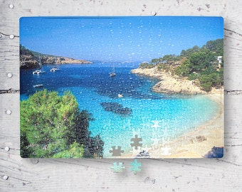 Seascape A3 Personalized Sublimation Puzzle PTA3