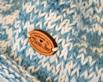 Alder mini tags for handmade items