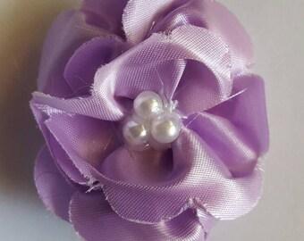 Light purple flower barrette