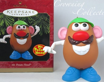 1997 Hallmark Mr. Potato Head Toy Story Disney Keepsake Ornament Hasbro Toy Vintage Collection MIB Pixar Christmas