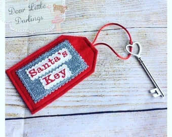 Santa's Key, Santa's Magic Key, Christmas Eve