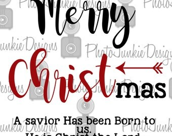 Cuttng Merry Christ Mas  SVG PNG  DXF digtal Files