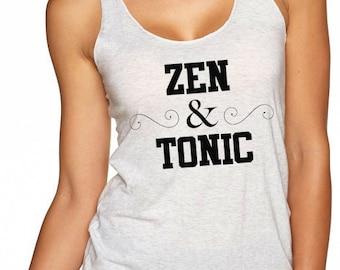 Zen & Tonic Racerback Tank Top