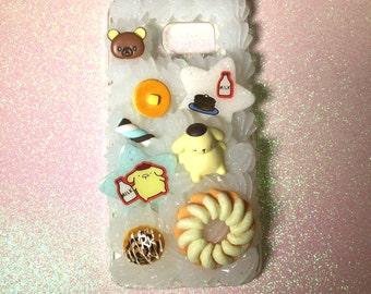 Ready to Ship Samsung Galaxy S7 Kawaii Decoden Case