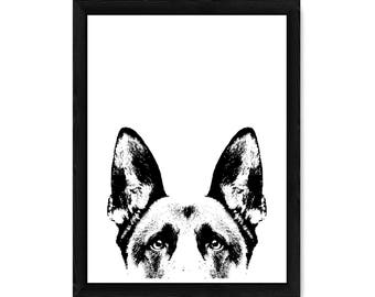 German Shepherd PRINT