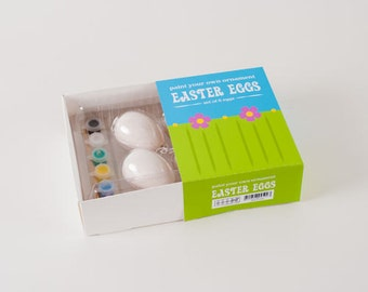 Ceramic Blank Egg Ornaments (set of 6)