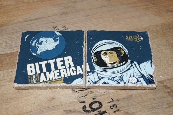 UPcycled Coaster (set of 2) - 21st Amendment - Bitter American
