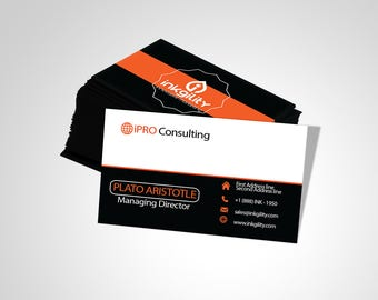 Business Cards (CONSULTING & RECRUITMENT_003 Template)