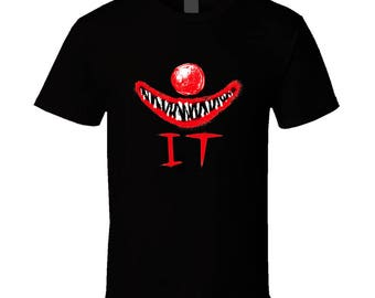 Stephen King Pennywise It Horror Movie T Shirt