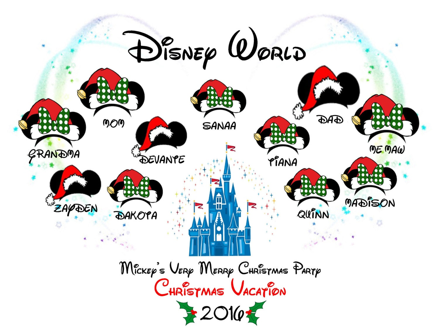 Mickey's Very Merry Christmas Party Christmas Vacation