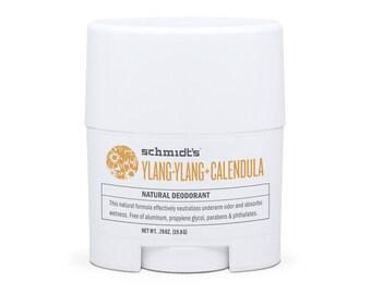 Ylang-Ylang + Calendula Travel-Size Stick (.7 oz.) - Schmidt's Natural Deodorant