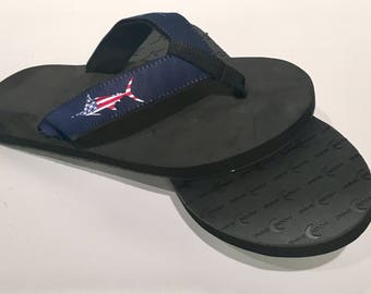 USA Marlin Flip Flops/Sandals