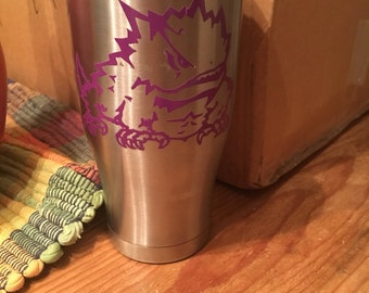 TCU Horned Frog and/or 30oz RTIC cup