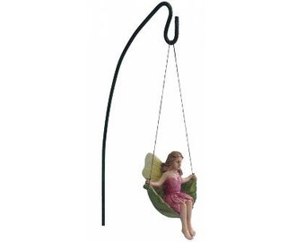 Fairy Garden  - Swinging Fairy - Miniature