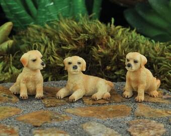 Mini Hound Dogs - Set Of 3