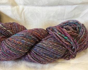 CC16/390 Handspun yarn,  wool / bamboo