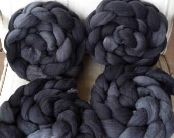 CC17/122 Handdyed Merino Wool Tops