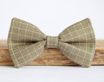 Country Dog Bow Tie