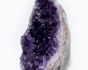 Uruguay Amethyst, 615 grams, dark violet crystals
