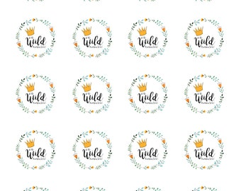 Where the Wild Things are Cupcake Toppers or Sticker/Lables DIY Printable
