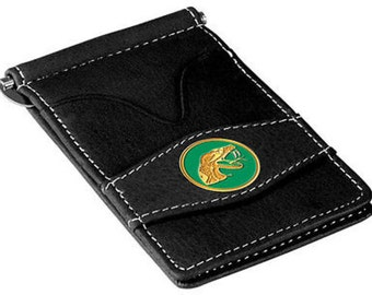 Florida A&M Rattlers Black Leather Wallet Card Holder