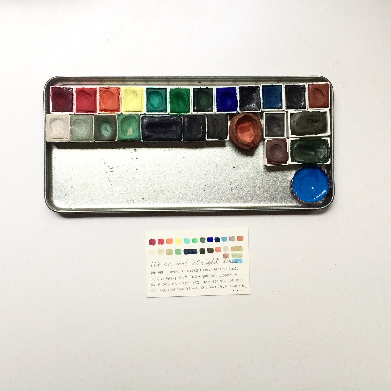 watercolor pans