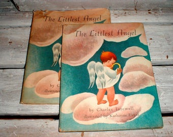 The Littlest Angel By Charles Tazewell Illustrated By Katherine Evans First Edition 1946