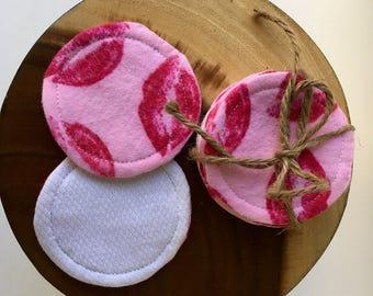 Reusable Cotton Rounds, Makeup Remover Pads, Washable Facial Pads, Reusable Cosmetic Rounds, Toner Applicators,