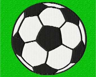 Football 90mm - embroidery