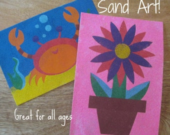Sand Art 2-Pack, DIY Party Craft, Party Supplies