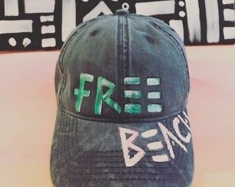 FREE BeACH Baseball Cap