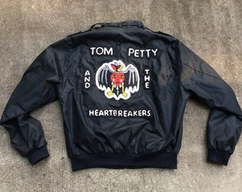 Tom Petty and the heartbreakers CHAINSTITCH members only jacket small