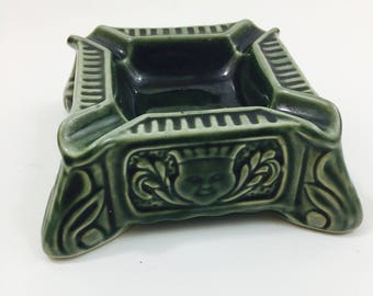 Made in Brazil Ceramic Ashtray