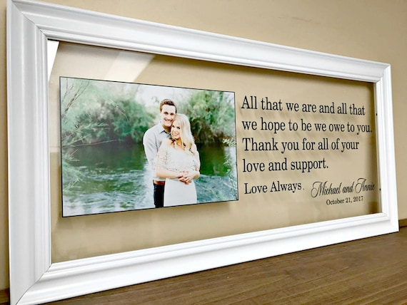 Great Wedding Gifts For Parents: Wedding Gifts For Parents Christmas Gifts For Parents Mother