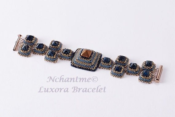 Luxora Bracelet Tutorial Instant Download