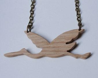 Stork Necklace