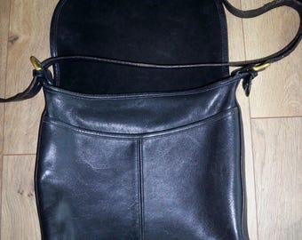 COACH black purse/ Coach cross body bag/ Coach shoulder bag
