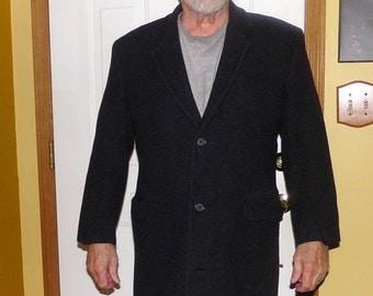 Wool Men's Dress Coat