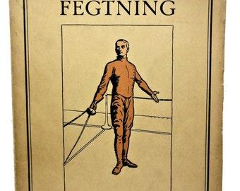 Fencing Danish 1924 Fegtning