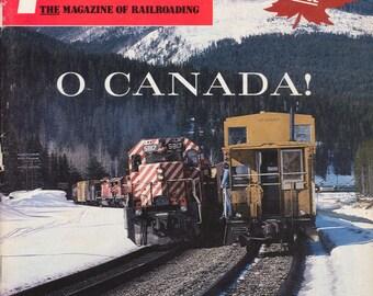 TRAINS NOVEMBER 1985 The Magazine of Railroading, Train Railroad Railroads Magazine!