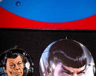 Star Trek Spock and Bones Mirror Set