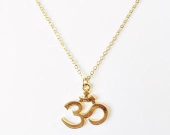Large Om Necklace