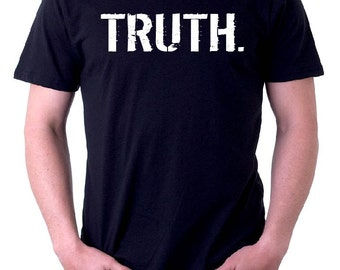 The BLACK & WHITE Line -oneWORD TRUTH Tee