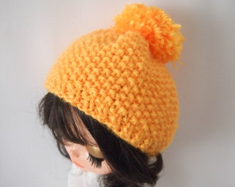 Blythe Bonnet: Handmade Yellow Bonnet