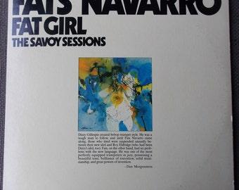 The Fabulous FATS NAVARRO Fat Girl The Savoy Sessions LP...Savoy Records...Vintage Vinyl...Bebop Jazz...1940s Jazz...Double Album...Gatefold