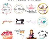 Logo Branding Package - Custom Logo Design - Branding Package - Business Card Design - Vector Logo - Watermark - Etsy Cover - Facebook Cover