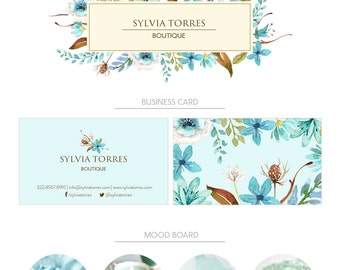 PREMIUM branding package | Logo + Business card design | Branding kit | Photography Logo | Branding package | Business cards