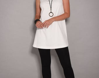 White dress, casual dresses, day dress, short dress, tunic dress, white dresses for women, womens tunic, summer dresses, tunic tops,