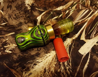 Duck Call (Green and Grey Spectraply)