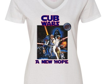 Cub Wars A New Hope, Cub Star Wars Shirt, Star Wars Chicago Cubs Shirt